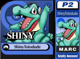 Character Select: ShinyTotodude