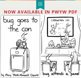 """""""Bug Goes to the Con"""" NOW AVAILABLE IN PWYW PDF"""