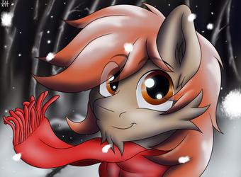 Winterlight at the Snowpeak