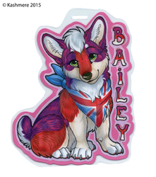 Bailey Corgi Badge