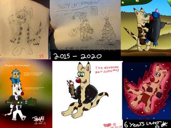 6 years of art