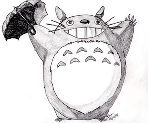Totoro With Umbrella