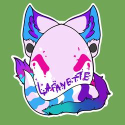 [C] Lafayette Egg Badge
