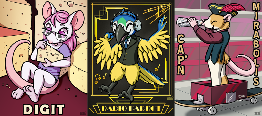 Ridicudorable Deluxe Badges [AC 2016]