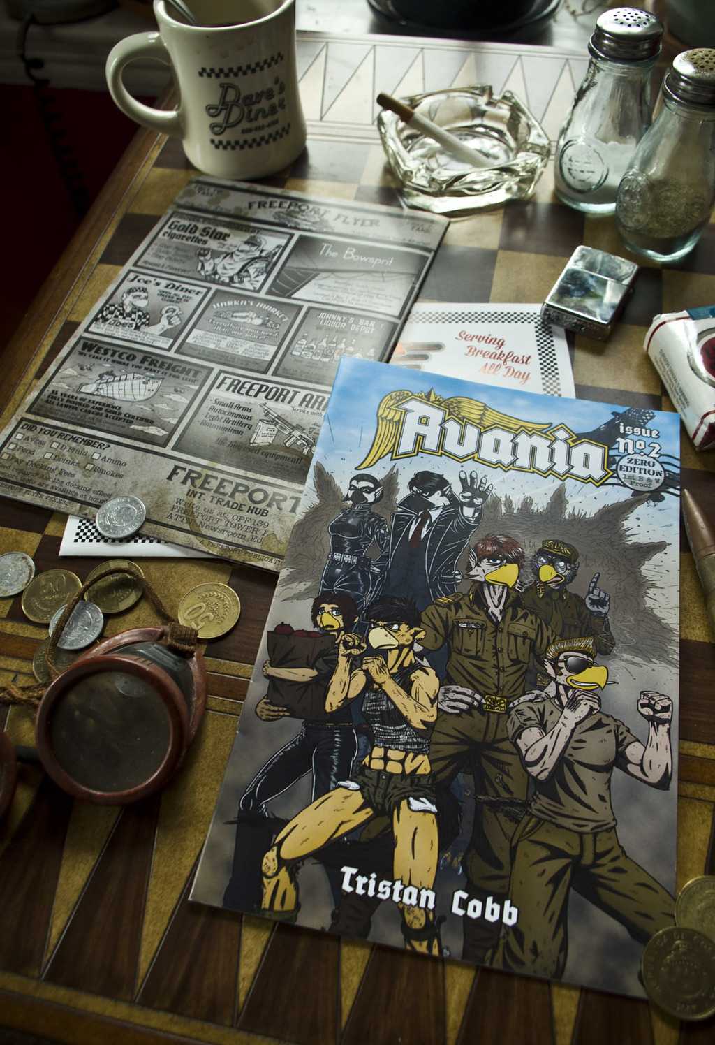 Avania - Issue 2 Print Proof