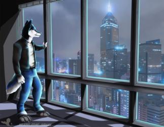Commission - Skyline