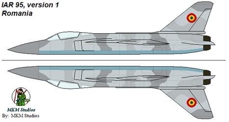 Romanian IAR 95, 01