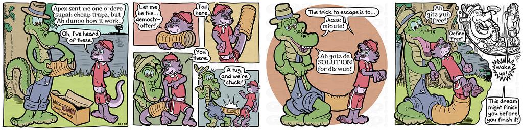 Gon' E-Choo! Strip 188 (www.gonechoo.com)