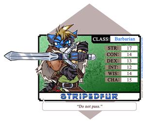 D&D Character Statistics