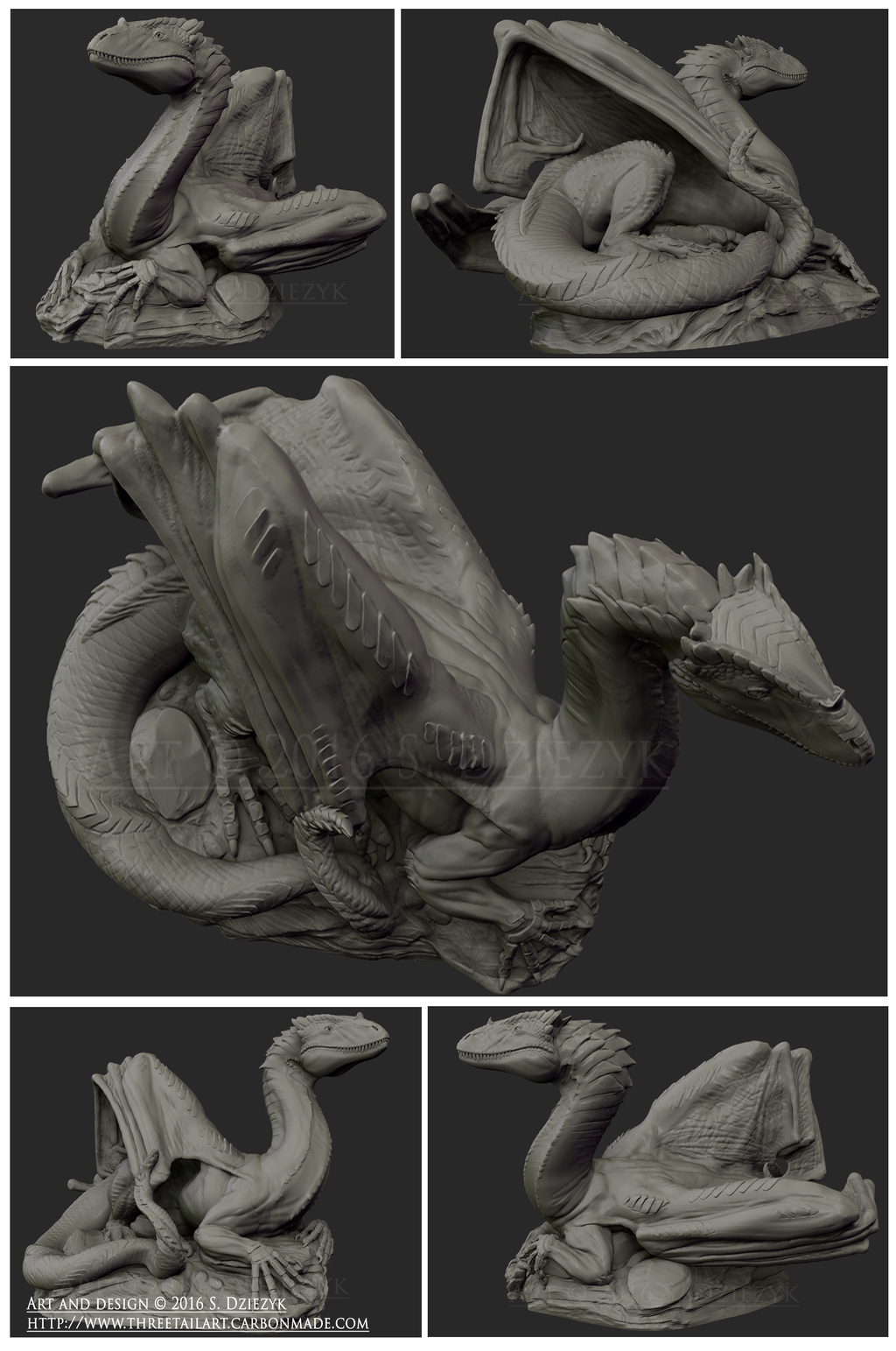 Endada Dragon Model