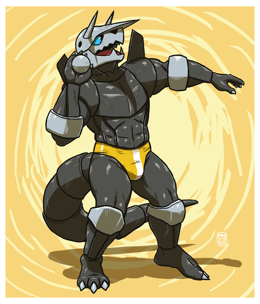AGGRON : Ball of steel
