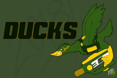 Australian National Laser Tag League - Ducks logo
