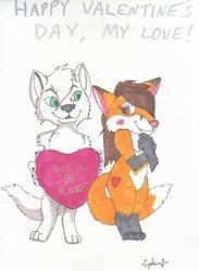 Be My Foxy Valentine