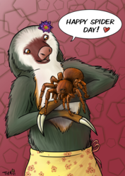 Happy (belated) Spider Day!