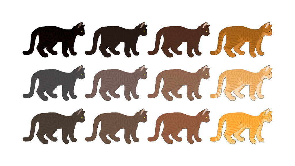 Most recent image: Cat Genetics Guide: Ghost Tabby Base Colors