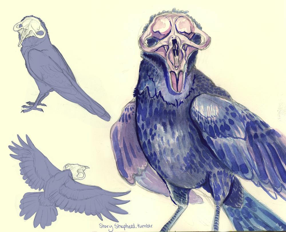Skullhead Crow