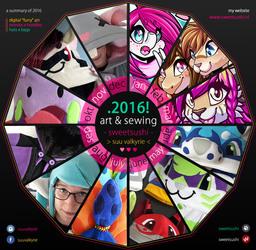 Summary of art & sewing 2016