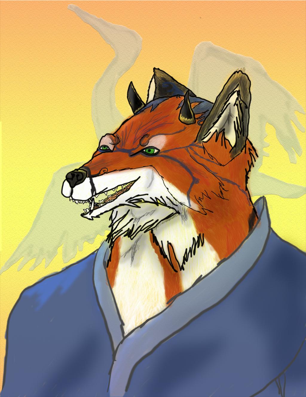 Oni inspired Fox
