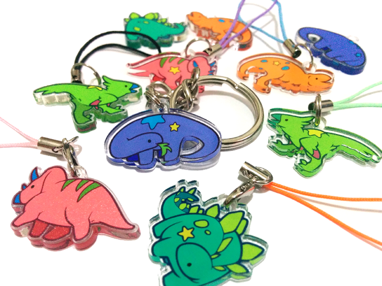 Dinolump Charms