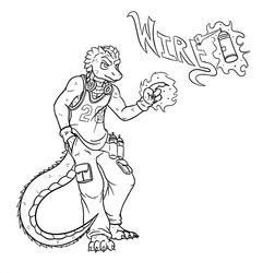 Sketch Request #5 - Wire