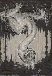 31 Days of Monsters: Khezu (Monster Hunter)