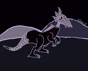 Ghost raptor thing, again