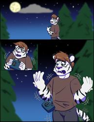 YCH Weretiger comic: Blue 1