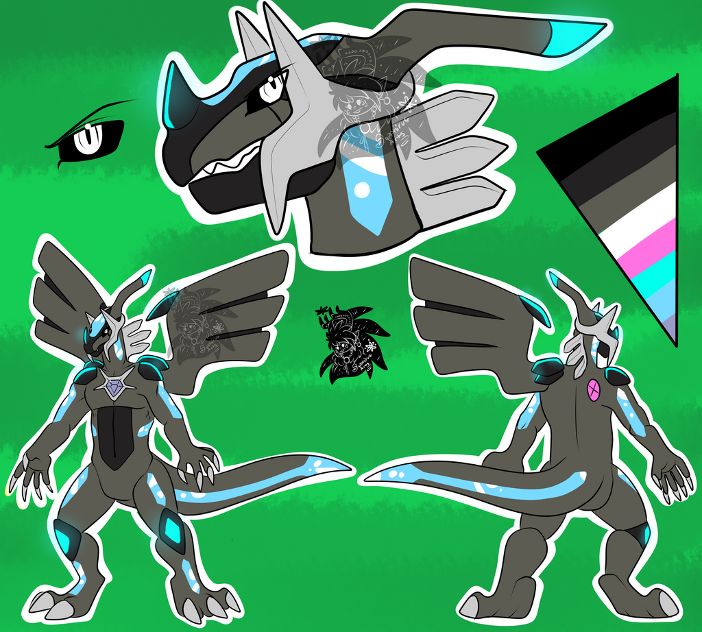 Male Dialkrom +Flatcolored Ref Commission+