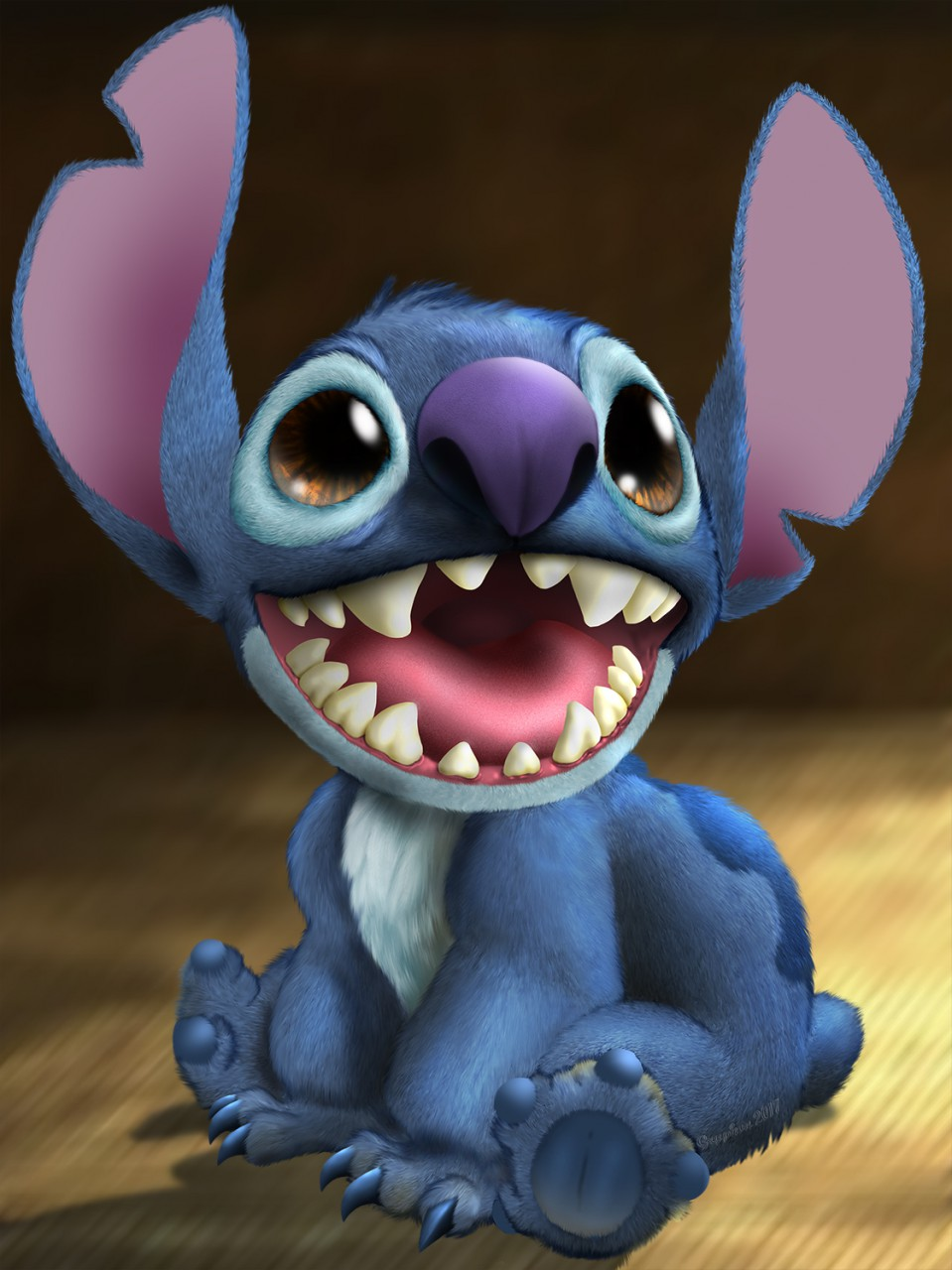 Most recent image: Stitch