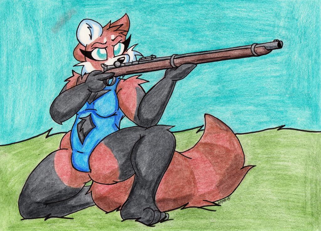 Armed Anthros: Remington-Keene