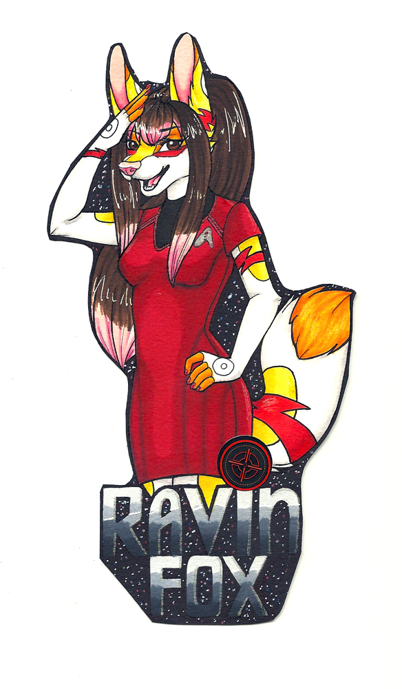 Star Trek Ravin Fox Badge [P]