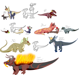 Draconfied Domesticated animals