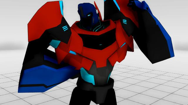 MikeMus prime MMD self model