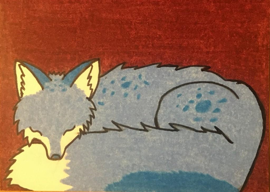[My Art] ATC for WolfofMirrors