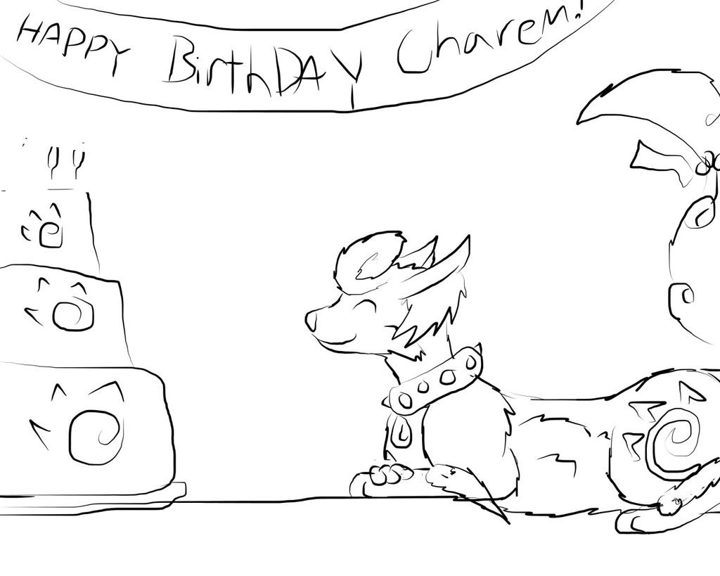 A Great Birthday Cake - by DarkenJay