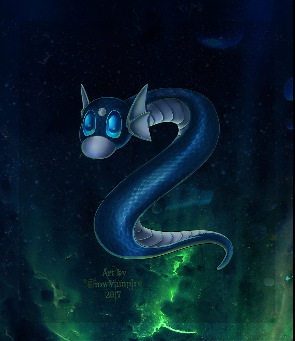 Most recent image: dratini commission