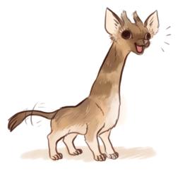 giraffe chihuahua