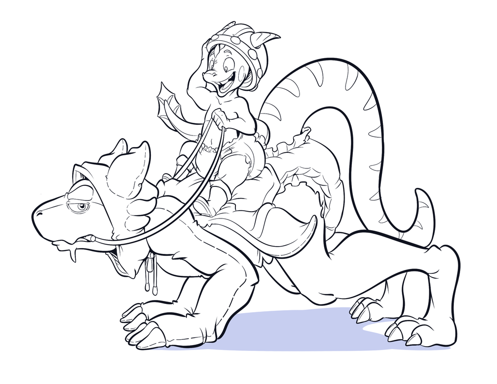 Ride the dragon!!