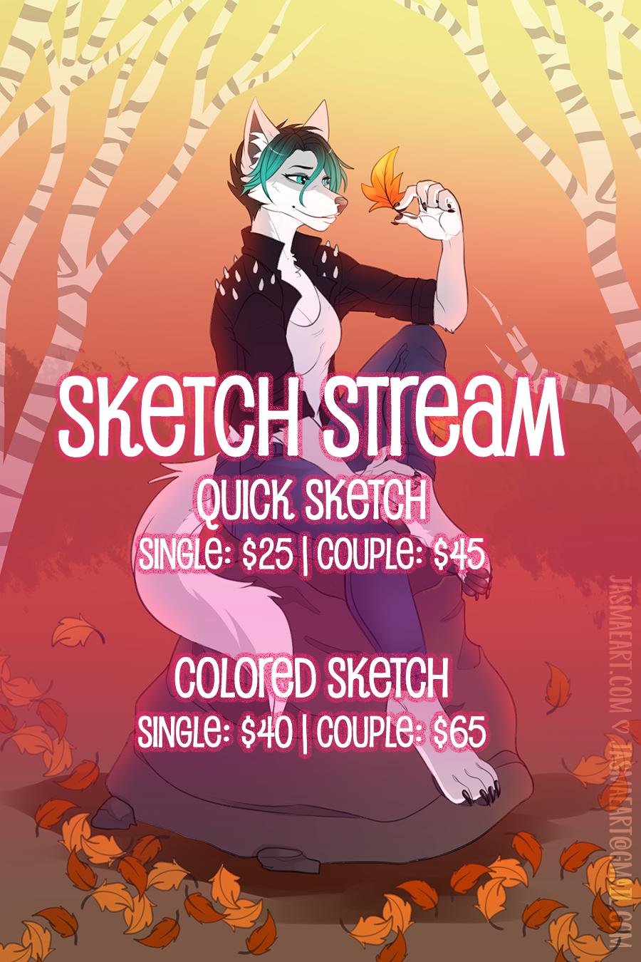 sketch stream online!