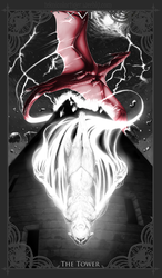 Character Tarot: The Tower (Luxe)