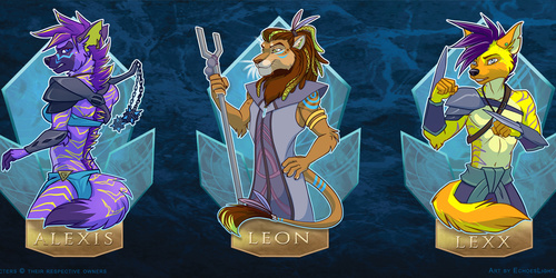 VF2016 Atlantis Badges