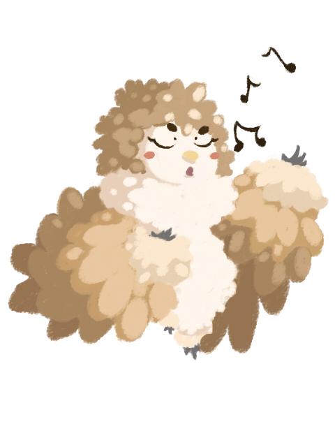 Singing Owlgirl