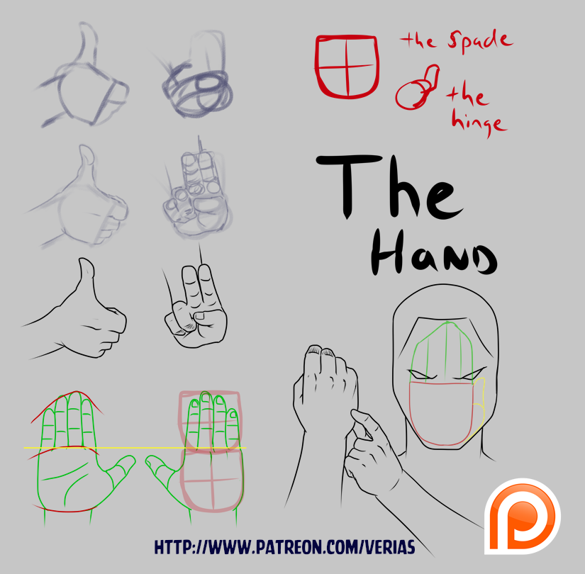 How I Draw Hands: Patreon Demo/Teaser version