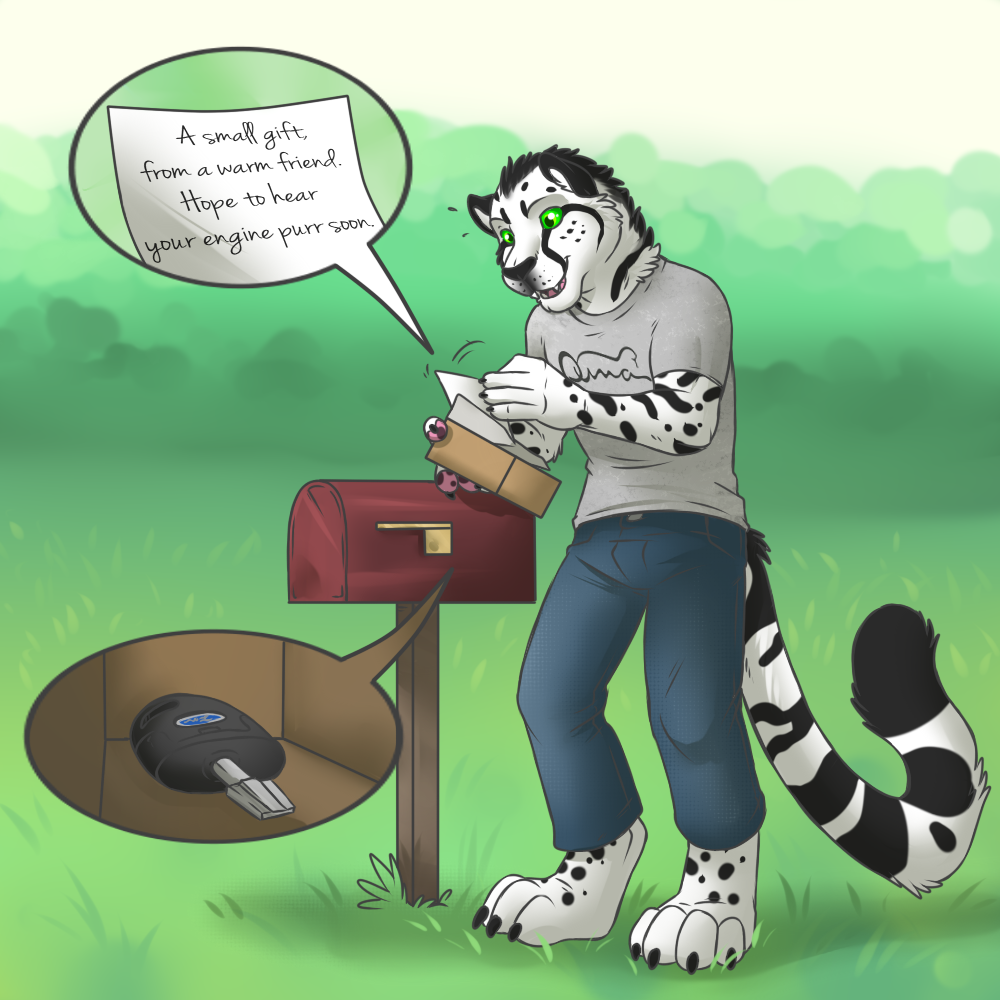 A Purring Engine - Pt 1 [Stream Commission - TF]