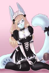 Sitting Maid