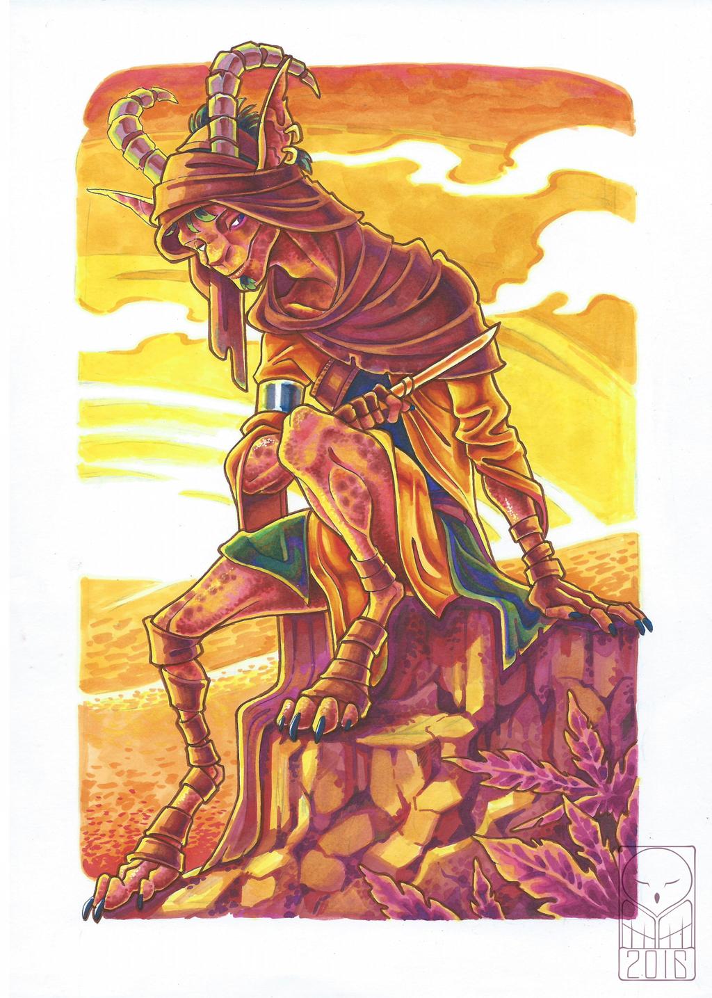 Thief in the Desert