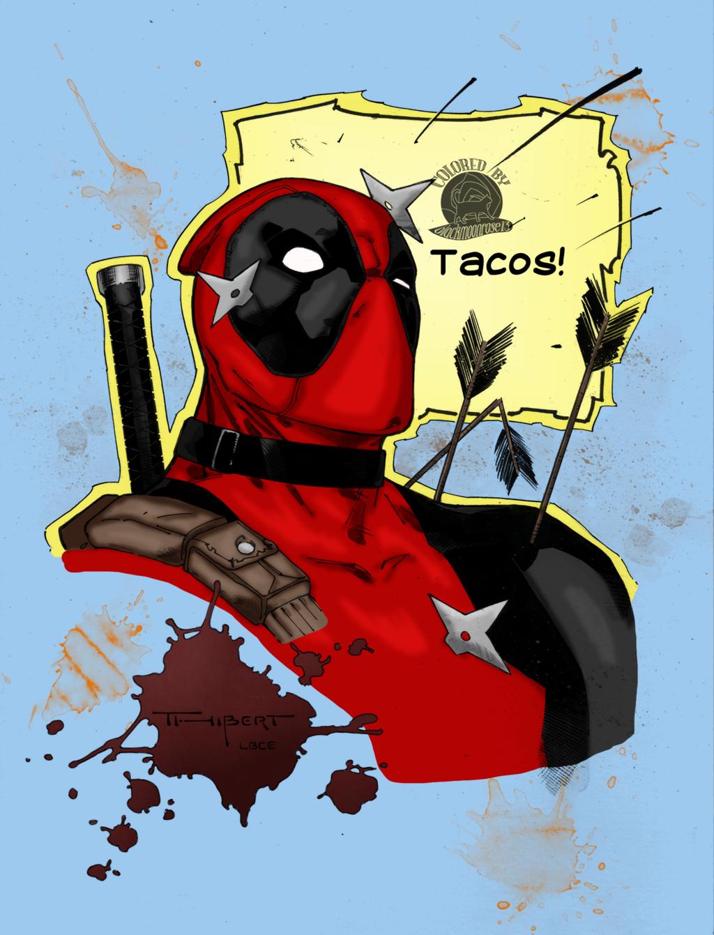 Deadpool Wants Taco