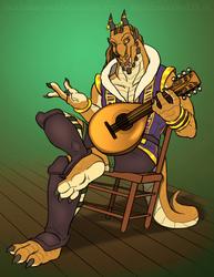 Dragonborn Bard [Comm]
