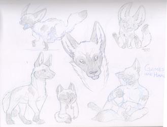 Sketch Page - Sasha