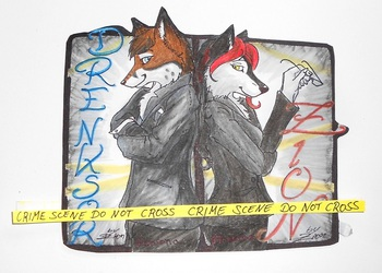 CSI Berlin - EF20 Couplebadge